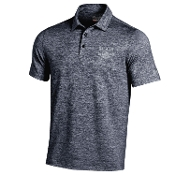 Navy Heather Polo
