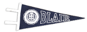 Wool Felt Blair Pennant