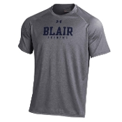 UA Grey S/S Tech T-Shirt