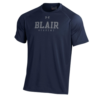 UA Navy S/S Tech T-Shirt